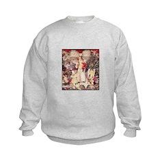 Christmas Scrapbook Altered C Sweatshirt