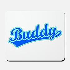 Retro Buddy (Blue) Mousepad