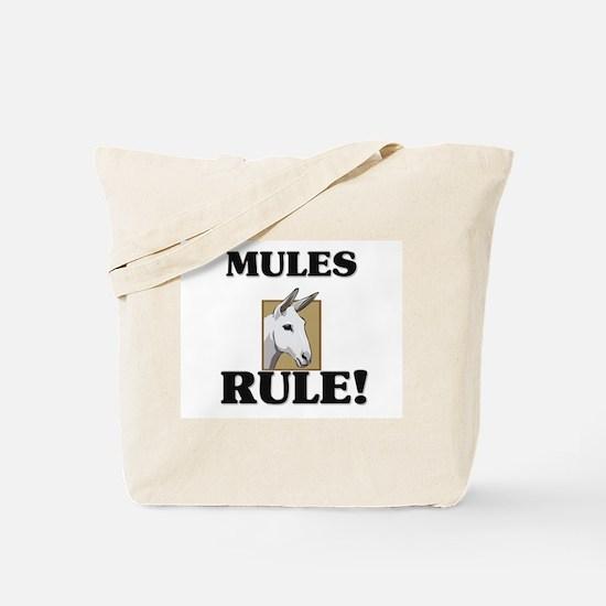 Mules Rule! Tote Bag