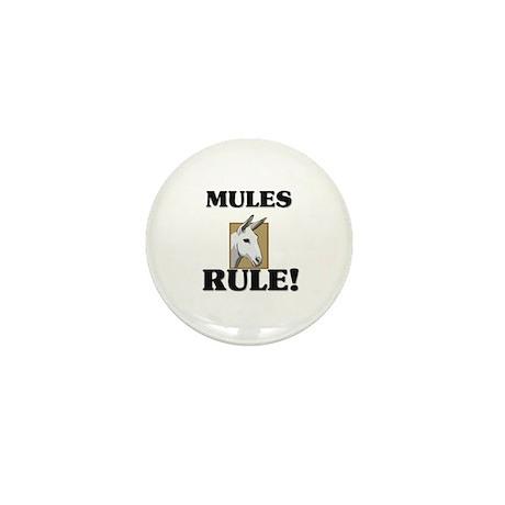 Mules Rule! Mini Button