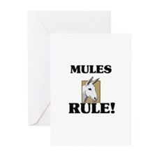 Mules Rule! Greeting Cards (Pk of 10)