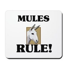 Mules Rule! Mousepad
