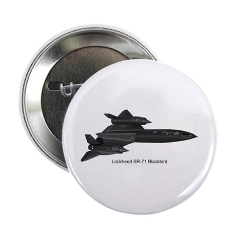 "SR-71 Blackbird 2.25"" Button"