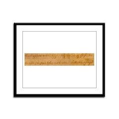 Infringement-2 Framed Panel Print