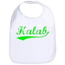 Vintage Halab (Green) Bib