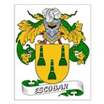 Escobar Family Crest Small Poster