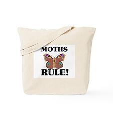 Moths Rule! Tote Bag