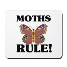 Moths Rule! Mousepad