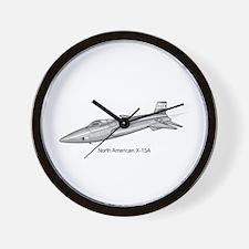X-15 Rocket Power Aircraft Wall Clock