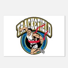 Track and Field Logo Postcards (Package of 8)