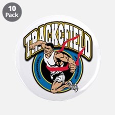 """Track and Field Logo 3.5"""" Button (10 pack)"""