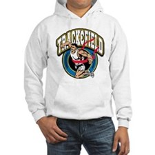Track and Field Logo Hoodie