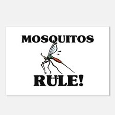 Mosquitos Rule! Postcards (Package of 8)