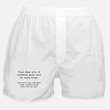 Tough Germs Boxer Shorts