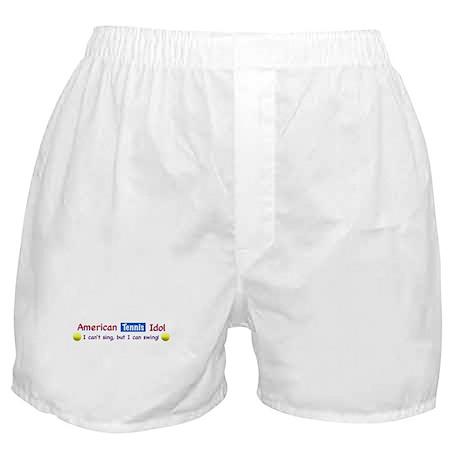 American Tennis Idol Boxer Shorts