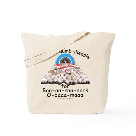 Baa-rack Obama Sheeple Tote Bag