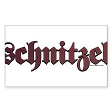 Schnitzel Rectangle Decal