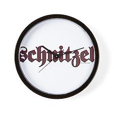 Schnitzel Wall Clock