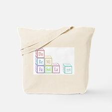 Do Re Mi Fa Sol La Ti Baby Blocks Tote Bag