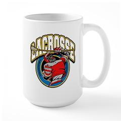 Men's Lacrosse Logo Mug