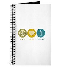 Peace Love Feeding Journal
