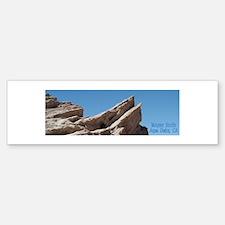 Helaine's Vasquez Rocks Bumper Bumper Sticker
