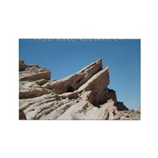 Helaine's Vasquez Rocks Rectangle Magnet