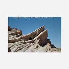 Helaine's Vasquez Rocks Rectangle Magnet