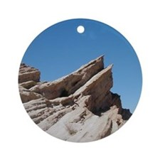 Helaine's Vasquez Rocks Ornament (Round)