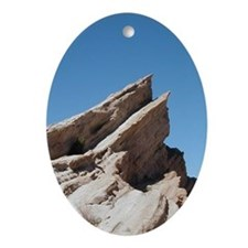 Helaine's Vasquez Rocks Ornament (Oval)
