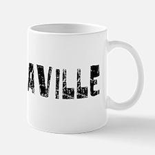 Brazzaville Faded (Black) Mug