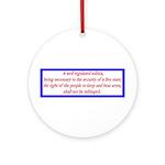 Infringement-4b Ornament (Round)