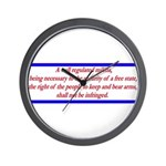 Infringement-4b Wall Clock