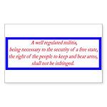 Infringement-4b Rectangle Sticker