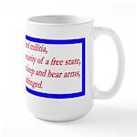 Infringement-4b Large Mug