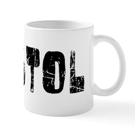 Bristol Faded (Black) Mug