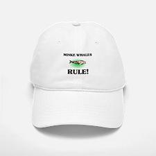 Minke Whales Rule! Baseball Baseball Cap