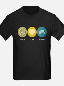 Peace Love Farm T