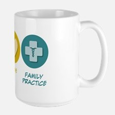 Peace Love Family Practice Mug
