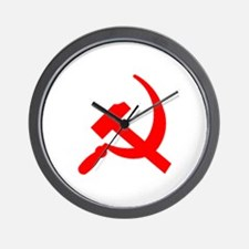 Hammer & Sickle Wall Clock
