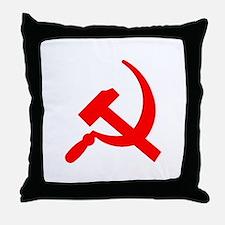 Hammer & Sickle Throw Pillow