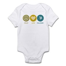 Peace Love Falconry Infant Bodysuit
