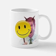 Behind the Smiley face - Mug