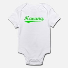 Vintage Havana (Green) Infant Bodysuit