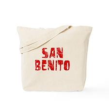 San Benito Faded (Red) Tote Bag
