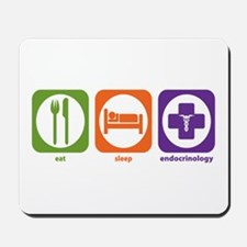 Eat Sleep Endocrinology Mousepad