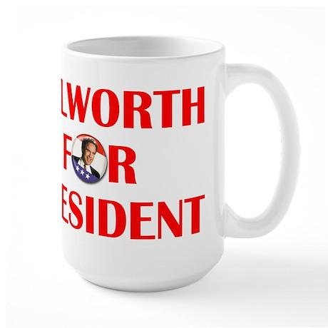 Bulworth For President Large Mug