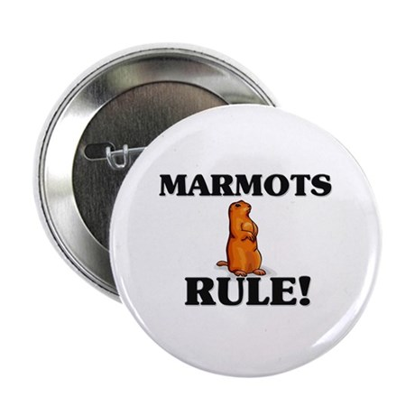 "Marmots Rule! 2.25"" Button (10 pack)"