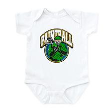 Paint Ball Logo Infant Bodysuit