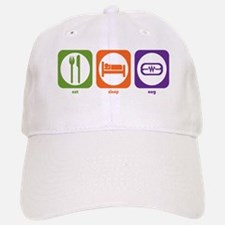 Eat Sleep EEG Baseball Baseball Cap
